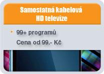 TV-kabelova televize button